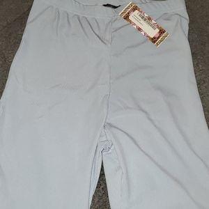 Blue ribbed Biker shorts size 12